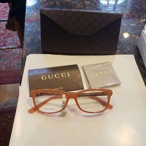 Gucci optical glasses